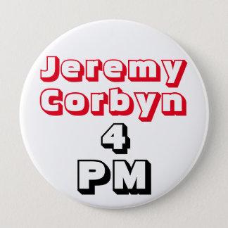 """""""ジェレミーCorbyn 4 PM"""" (総理大臣)ボタンのバッジ 10.2cm 丸型バッジ"""