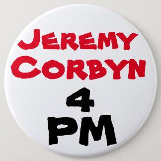 """""""ジェレミーCorbyn 4 PM"""" (総理大臣)ボタンのバッジ 15.2cm 丸型バッジ"""