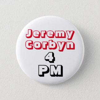 """""""ジェレミーCorbyn 4 PM"""" (総理大臣)ボタンのバッジ 5.7cm 丸型バッジ"""
