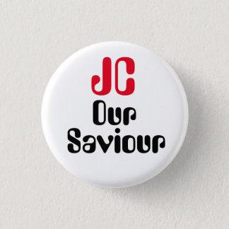"""ジェレミーCorbyn """"JC私達の救助者""""ボタンのバッジPin 3.2cm 丸型バッジ"""