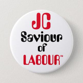 """ジェレミーCorbyn """"Labour™ボタンのバッジのJCの救助者 7.6cm 丸型バッジ"""