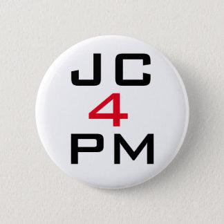 """ジェレミーCorbyn """"PMのためのJC""""ボタンのバッジ 5.7cm 丸型バッジ"""