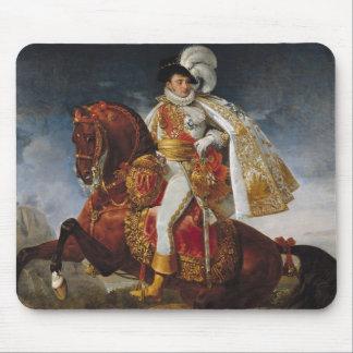 ジェロームBonaparte 1808年の乗馬のポートレート マウスパッド