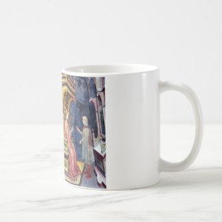 ジェンティーレ・ダ・ファブリアーノ著哲学そして文法 コーヒーマグカップ