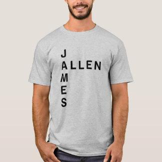 ジェームスのアレンによって決め付けられるTシャツ Tシャツ