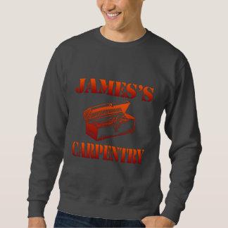 ジェームスの大工仕事 スウェットシャツ