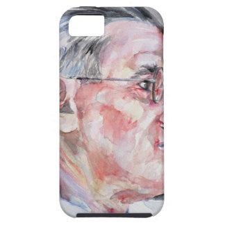 ジェームスジョイス-水彩画のポートレート iPhone SE/5/5s ケース