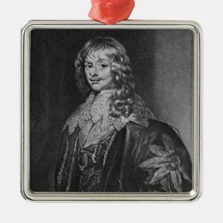 ジェームスリッチモンドの第1公爵の、ポートレート、 メタルオーナメント