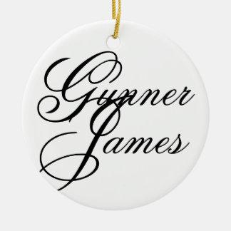 ジェームス射撃手 セラミックオーナメント