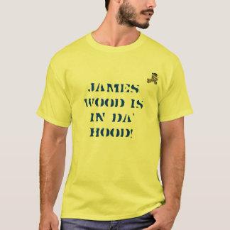 ジェームス木はDaのフードにあります! Tシャツ