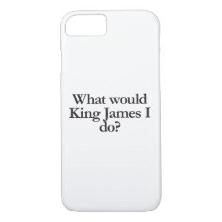 ジェームス王私する何が iPhone 8/7ケース
