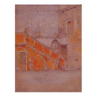 ジェームス赤いMcNeillのホイスラーの階段のノート ポストカード