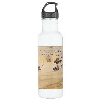 ジェームスAbbott McNeillのホイスラーによるビーチ場面 ウォーターボトル