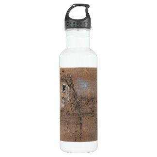 ジェームスAbbott McNeillのホイスラー-ベニス風運河 ウォーターボトル