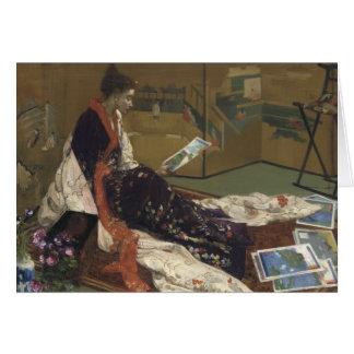 ジェームスAbbott McNeillのホイスラー-紫色の気紛れ気紛れ カード