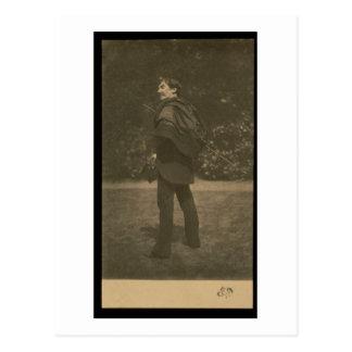 ジェームスAbbott McNeill Whistlのポートレートの写真 ポストカード