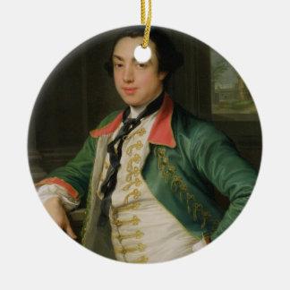 、ジェームスCaulfield (1728-99年の) Charlemont第4子爵 セラミックオーナメント