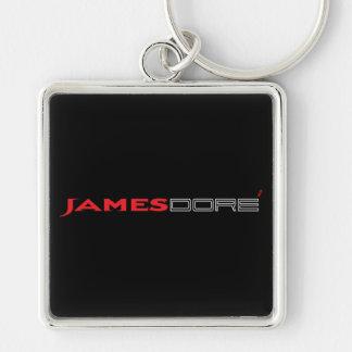 ジェームスDoreの大きく黒く及び赤いキーホルダー キーホルダー