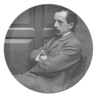 ジェームスMatthew Barrie (1860-1937年) (b/wの写真) プレート