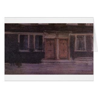 ジェームスMcNeillのホイスラーによるチェルシーの家 カード