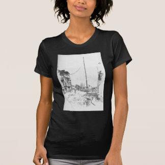 ジェームスMcNeillのホイスラーによる小さいマスト Tシャツ
