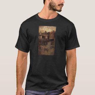 ジェームスMcNeillのホイスラーによる小さく赤い家 Tシャツ