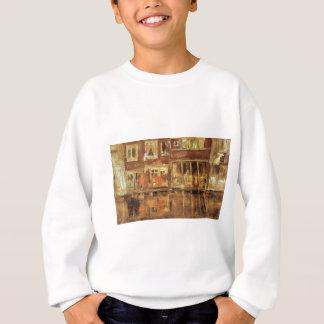 ジェームスMcNeillのホイスラーによる運河 スウェットシャツ