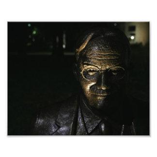 ジェームスNaismithの青銅色の彫像の写真のプリント フォトプリント