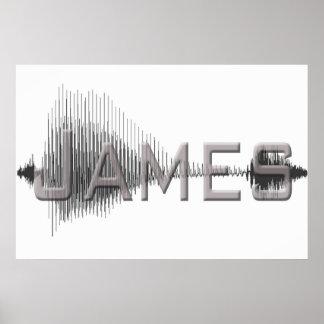 ジェームスSononomeのグラフィックアートのデザイン ポスター