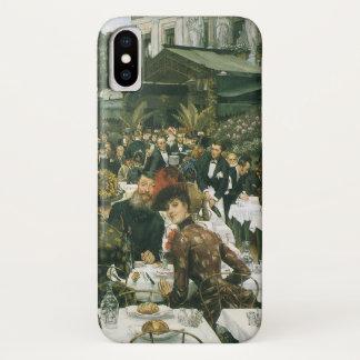ジェームスTissotのヴィンテージの芸術著芸術家の女性 iPhone X ケース