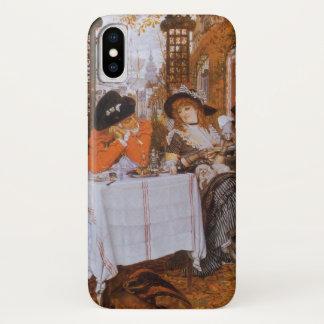 ジェームスTissot著昼食会(Le Dejeuner) iPhone X ケース
