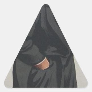 ジェームスTissot著氏のLionelローソン風刺漫画 三角形シール