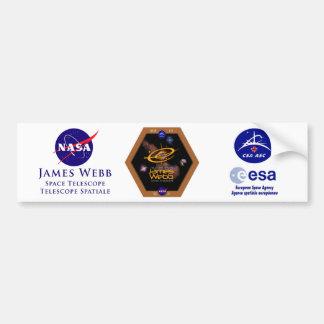 ジェームスWebbの宇宙望遠鏡NASAパッチ バンパーステッカー