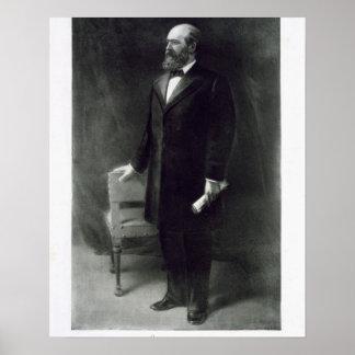 、ジェームズ・ガーフィールド統一されたなStの第20大統領 ポスター