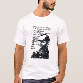 ジェームズ・コノリーのワイシャツ Tシャツ
