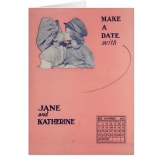 ジェーンおよびカサリンリーの静かな星1919年 カード