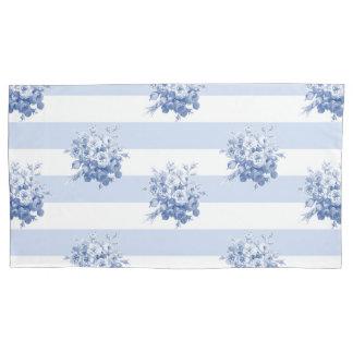 ジェーンのばら色の花束のブルーベリー王の枕カバー 枕カバー