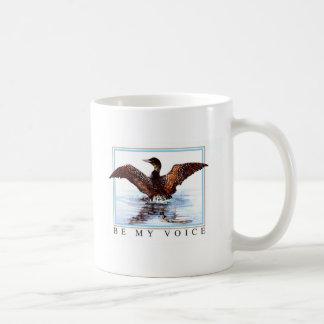 ジェーンフリーマン著踊りの水潜り鳥 コーヒーマグカップ