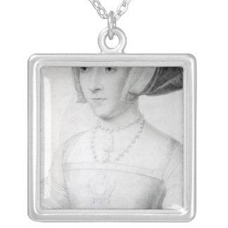 ジェーン・シーモア、c.1536 シルバープレートネックレス
