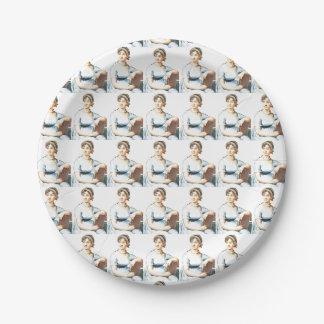 ジェーンAustenのテーマの紙皿 ペーパープレート