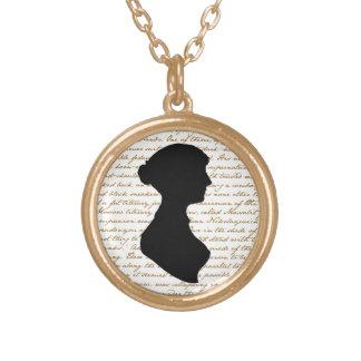 ジェーンAustenのネックレス ゴールドプレートネックレス