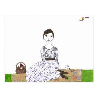 ジェーンAustenのピクニック ポストカード