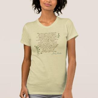 ジェーンAustenのプライド及び偏見の引用文#1 Tシャツ