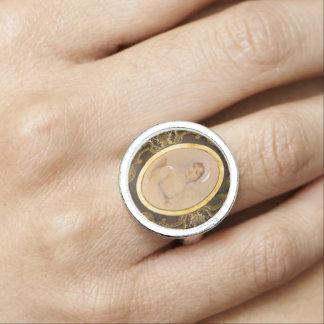 ジェーンAustenのポートレートのリングや輪 指輪