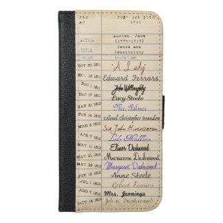 ジェーンAustenの図書館から iPhone 6/6s Plus ウォレットケース