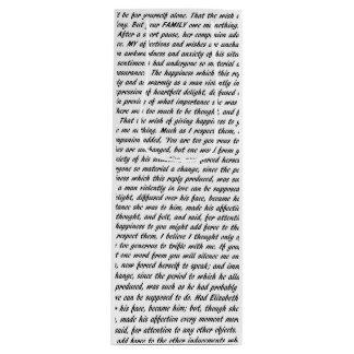 ジェーンAustenの引用文 ワインギフトバッグ