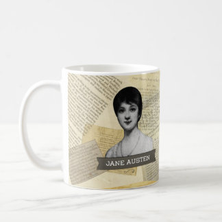 ジェーンAustenの歴史的マグ コーヒーマグカップ