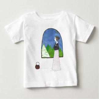 ジェーンAustenの窓 ベビーTシャツ