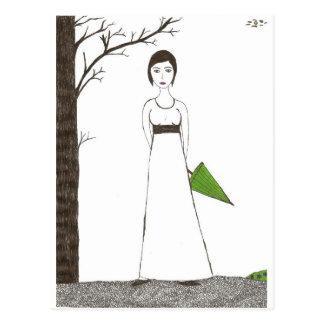 ジェーンAustenの米 ポストカード