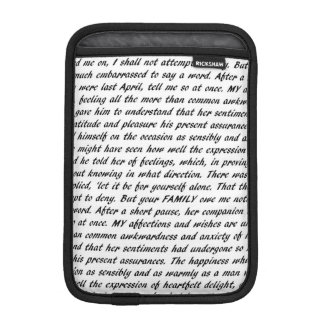 ジェーンAustenは両面を引用します iPad Miniスリーブ
